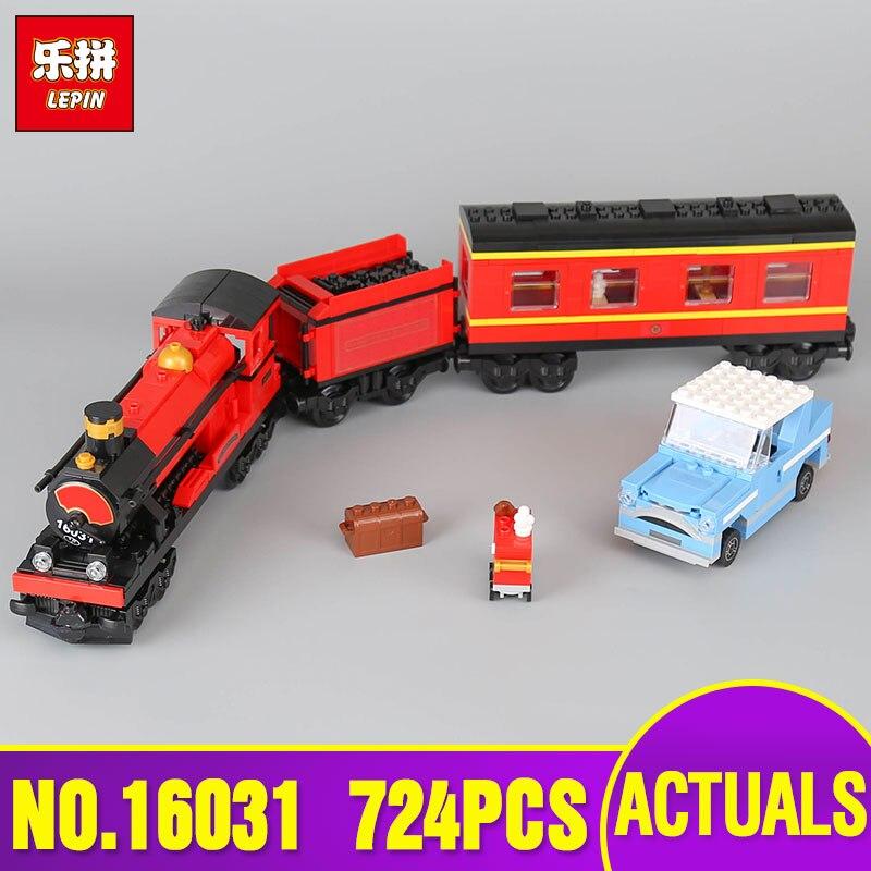 Lepin 16031 Genuine Movie Series 724Pcs The Hogwarts Express Set 4841 Building Blocks Bricks Educational Boy`s Toys As Model<br>