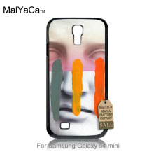 Composition On Panel Cool Mask Diy Colorful Drawing Plastic phone case For GALAXY s4 mini case