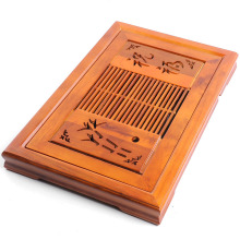 New,Chinese wooden tea tray/desk,Kung fu trivets,drain drawer,tea accessories,for ripe puer,tea pu erh,tieguanyin,Da Hong Pao(China)