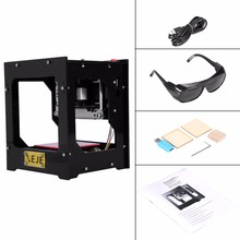 1000MW Mini Laser Engraver Wood Laser Engraver Machine Automatic DIY Print USB Carving Machine CNC Wood Off-line CNC Operation