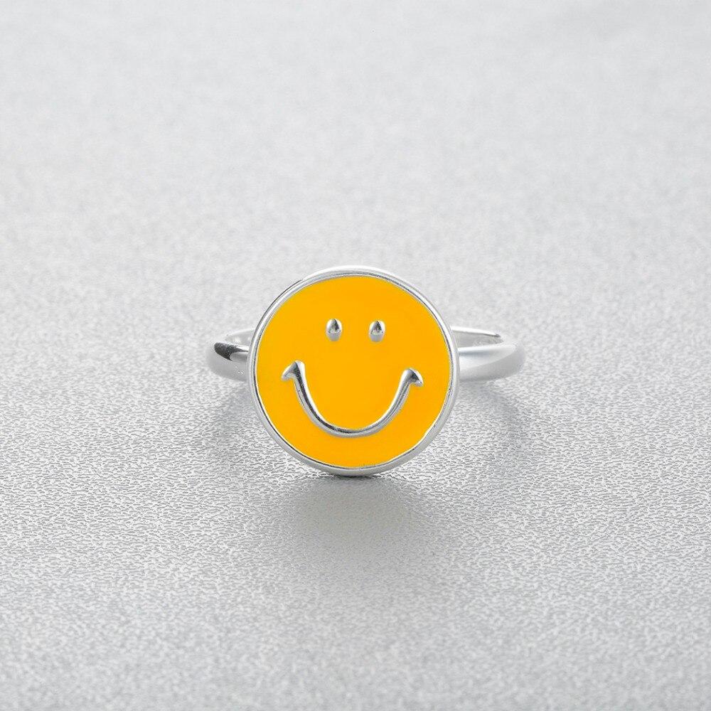 Emoji Smiley Face Finger Ring