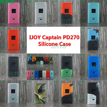 13 colors Silicone Case for iJoy Captain PD270 Box Mod 20700 China seller With protector sticker rubber box tactile and tough