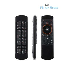 New Original Russian/English mini i25 Wireless Keyboard 2.4Ghz Air Mouse Remote Control for Samsung Smart TV Android TV BOX(China)