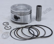 GY6 57.4mm Piston Ring Kit 150CC 1P57QMJ Kunroad Dune Kazuma Buyang Taotao Quad ATV Go Kart Buggy Scooter(China)