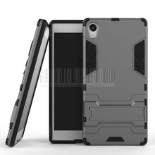Buy Robot Armor Rugged Slim Hard Dual Case Hybrid Rubber Shockproof Protective Cases Kickstand Cover Sony Xperia Z5 Premium @ for $2.85 in AliExpress store