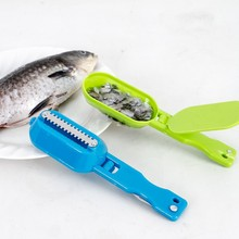 Practical Fish Scaler Scale Scraper Clam Opener for Cleaning Scraping Fish Kitchen Gadgets Cooking Tools(China)