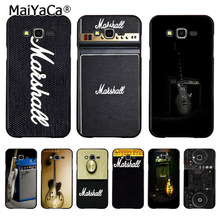MaiYaCa guitar amp marshall Hot selling fashion design hard pc cell case for samsung J5 j1 j3 j7 note 3 note4 note5 case coque(China)