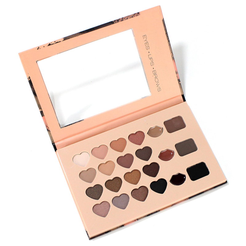 Makeup Set 3 In 1 Multifunction Eyeshadow Lipstick Eyebrow Palette Eyes+Lips+Brows