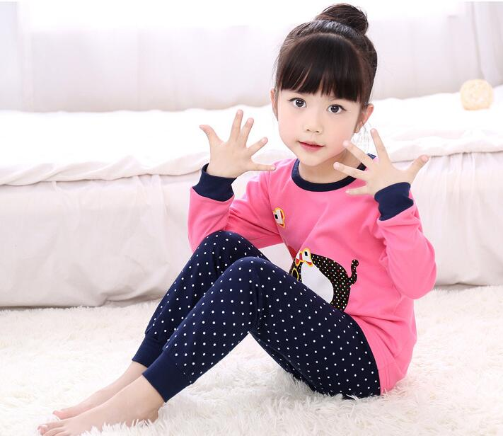 Free shipping 2017 new style pullover Spring Autumn cotton Baby Sets Cartoon adorable Girls Clothing<br>