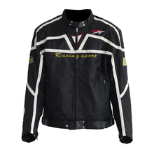 Riding Tribe Motocross Off-Road Racing Jacket Men's Motorcycle Jackets Oxford Cloth Motocross Windproof Jacket Black