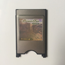 68 Pin PCMCIA Compact Flash CF Card to PCMCIA PC Card Adapter CompactFlash Reader For Laptop