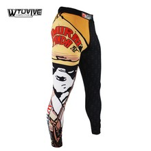 SUOTF  MMA Panda Samurai Tight Fitness Boxing Loose Elasticity Trousers Boxing Soup Pants muay thai clothing mma fight shorts