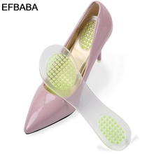 Buy EFBABA slip High Heel Insole Women Shoe Pad Damping Insoles Pad Gel Cushion Particle Massage Shoes Inserts Semelles Confort for $9.08 in AliExpress store