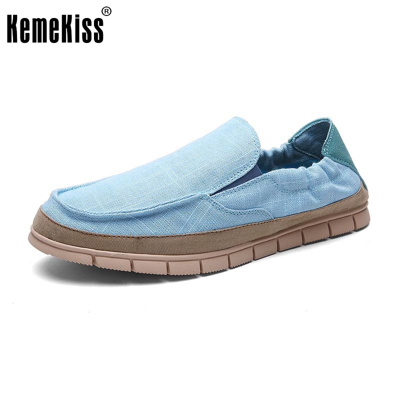 New Mens Canvas Shoes Casual Fashion Summer For Men Classic Flat Shoes Slip On Shoes Male Espadrilles Size 39-44 M0075<br><br>Aliexpress