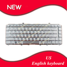 US layout English keyboard For Dell Inspiron 1420 1520 1521 1525 NK750 R1-5-B08 PP29L FOR Dell XPS M1530 XPS M1330(China)
