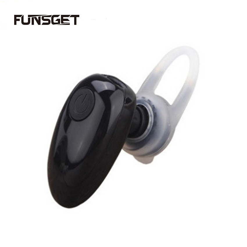 Mini Bluetooth Wireless Headset Sport Stereo Earphone Headphone with Mic Five Colors for Smart Phones<br><br>Aliexpress