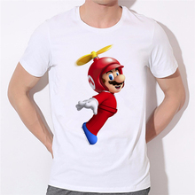 Pikachu Kirby Mario arcade style Cartoon Character t shirt Arcade Collage T-Shirt Women/Men Summer Style tops tee 37N-58#