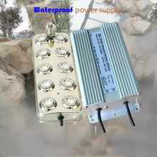 220V  Ultrasonic Mist Maker Fogger 10 Head Humidifier Atomizer 4.5KG/H
