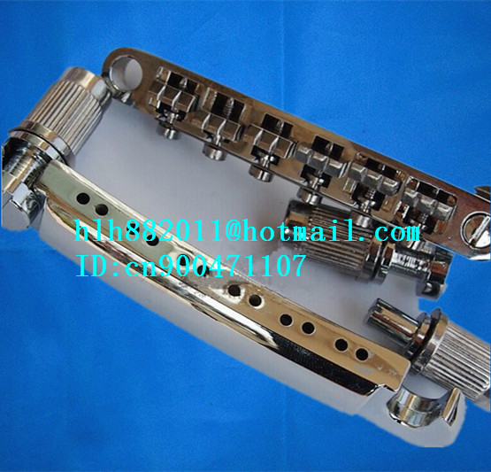 free shipping new  12 strings electric guitar bridge  in chrome   8203<br>