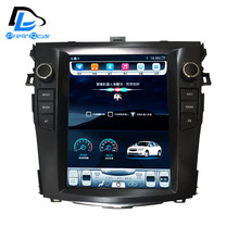 32G ROM Vertical screen android car gps multimedia video radio player in dash for Toyota Corolla 2007-2018 car navigaton(China)