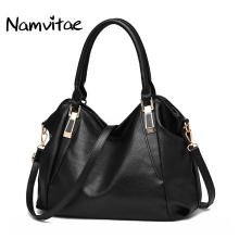 Namvitae Vintage Large Women Shoulder Totes Bag Famous Designer Casual Style Women Work Soft Leather Handbags Bolsa Feminina