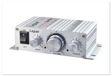 LP-A6 convenient mini car amplifier 12V MP3 small amplifier Low-power 2.0-channel amplifier