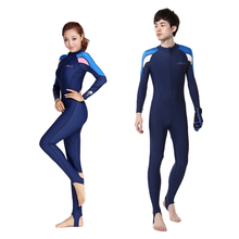 Free Shipping Full Dive Skin Jump Suit Wimming Wetsuits dive suit men or women windsurf suits Diving Suit Swimwear(China)