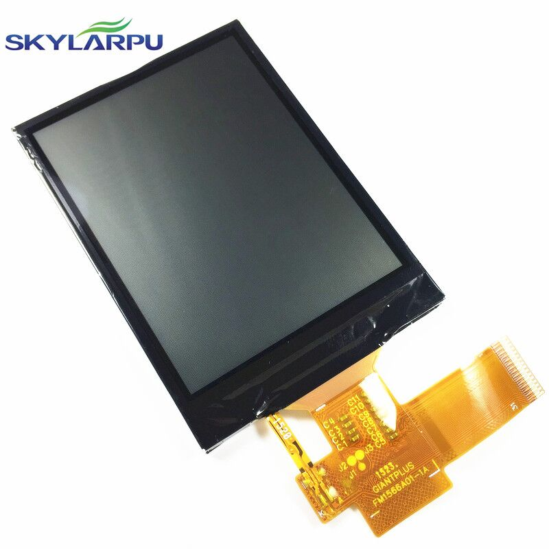 skylarpu 2.4 inch LCD screen for GARMIN EDGE 520 bicycle speed meter LCD display Screen panel Repair replacement LM1566A01-1A<br>