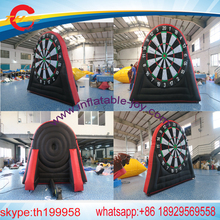 3-5m single sides  giant inflatable  dart board,inflatable foot darts game,inflatable soccer darts