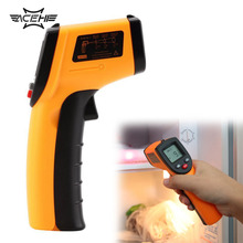ACEHE 1 Pcs GM320 Laser LCD Digital IR Infrared Thermometer Temperature Meter Gun For Industry Home Use(China)