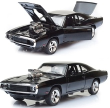 Double Horses 1:32 The Fast And The Furious Free Shipping Dodge Charger Alloy Car Models Kids Toys Metal Classical Cars