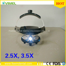 3W LED Medical Surgical Headlight with loupes examination lamp dental  maginifying glass