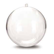 156mm Christmas decorations for home Christmas Tree ornaments ball Transparent hanging ball wedding decoration window display(China)
