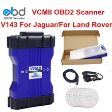 DHL Fast Shipping VCM 2 JLR Auto Diagnostic Tool VCM2 IDS V143 For Jaguar For Land Rover OBDII Diagnosing Scanner Full Chip PCB(China)