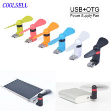 Portable Mini fan USB OTG Fan for External Mobile Power Bank &Cellphone &Tablet PC Energy Saving cool down wherever possible