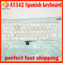 A1342 SP Spain Spanish keyboard for macbook 13.3'' A1342 SP layout without backlight 2009 2010year(China)