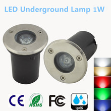 2PCS New IP67 Waterproof 1W AC 85-265V 12V LED Outdoor Ground Garden Path Floor Underground Buried Yard Lamp Landscapebulb Light