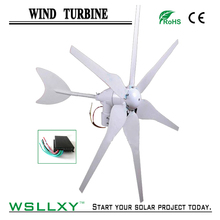 12V 24V 300W Wind Turbine Generator System including Micro Wind Charge Controller, Wind Power Kits