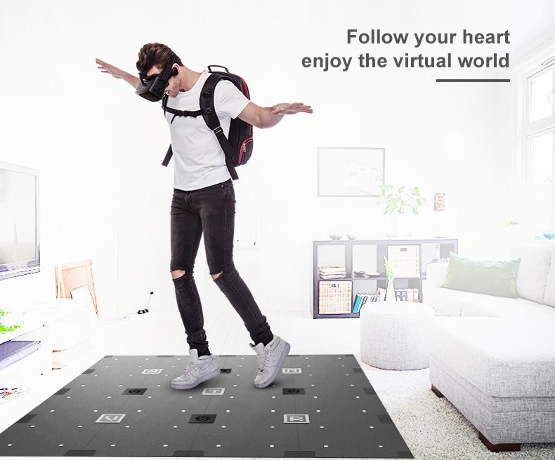 ANTVR VR Headset 2K Virtual Reality 3D Glasses For PC Compatible with Steam VR Cyclop 5.5″Dual OLED Helmet virtual pc glasses