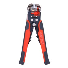 Automatic Cable Wire Stripper Professional Diagonal Pliers Self Adjust Crimper Terminal Tool Crimping Cutting(China)