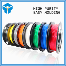 3d printer filament more colors Optional PLA/ABS 1.75mm MakerBot RepRap plastic Rubber Consumables raskhodnyye Materialy 0.3KG(China)
