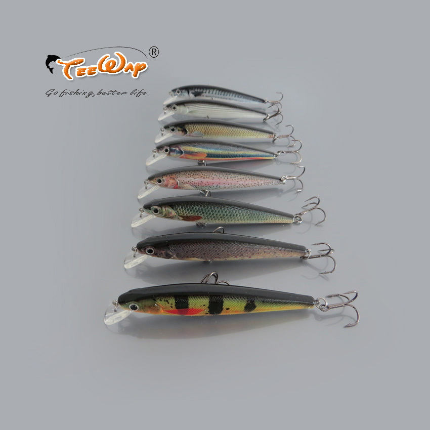 High Quality 2Pcs/Lot Lifelike Minnow fly Fishing lure 11cm/11.8g Hard Baits With Fish Hook for Fishing Tackle<br><br>Aliexpress