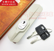 28mm*108mm Office Cabinet Sliding Door Locks Hook Sliding Door Lock Wardrobe Drawer Lock With Two Keys Wholesale(China)