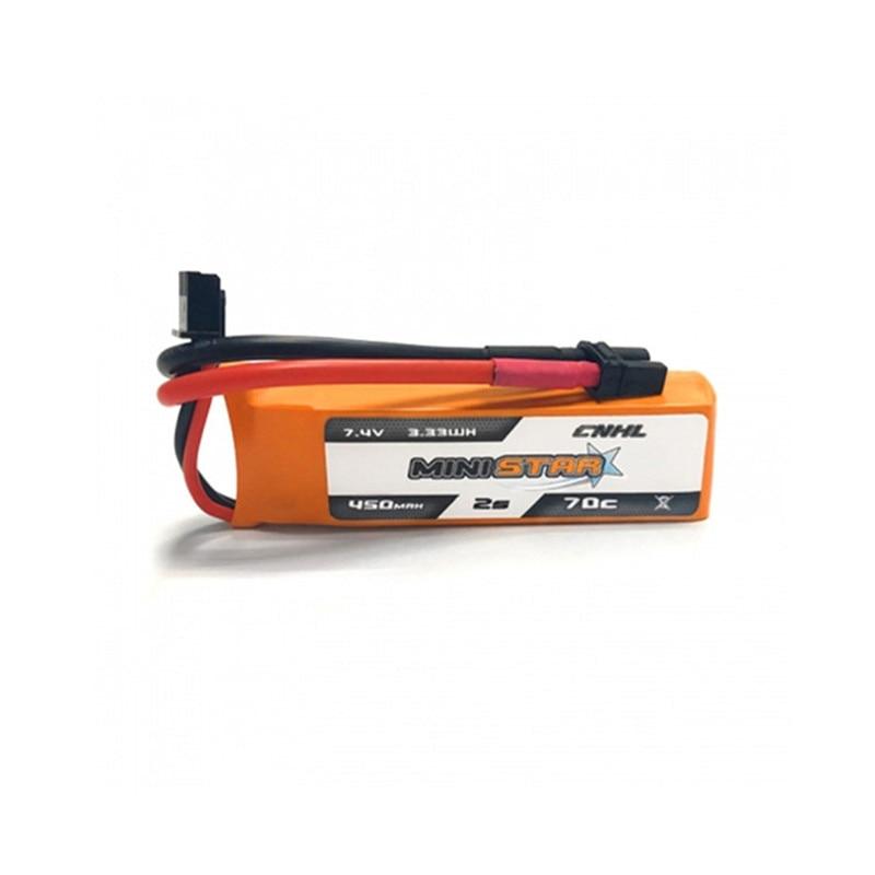 BETAFPV 2 Batteries 450mAh 2S LiPo 7,4V 80C avec connecteur JST /& XT30 pour Petit Drone de Course