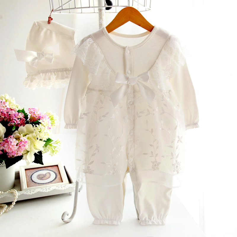 Baby girl clothes new arrival princess formal dress ruffle infant jumpsuit infant girl lace rompers newborn bebe costume<br><br>Aliexpress