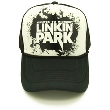 CLIMATE Linkin Park Rock and Roll Band Baseball Caps Hat Summer Trucker Cap Mesh Cap HipHop Sponge Hat For Men Women adjustable
