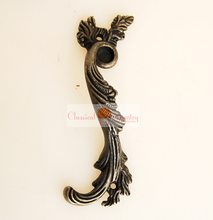 "4pcs Antique Drawer Pull Cabinet Handles Vintage Hardware for Kitchen and Bathroom Furniture 3.35""(China)"