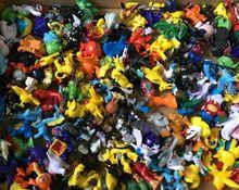 24 Pcs/Lot PVC Figures Set Pikachu Eevee Espeon Umbreon Glaceon Vaporeon Mini AnimeToy Figures Children