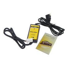 Auto Car USB 3.5mm Aux In Adapter MP3 Player Cable Radio Interface with Card Reader For Honda Accord Civic City CRV