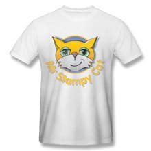 2017 men's stampylonghead - YouTube fashion funny custom Print Slim Fit T Shirt Top quality cotton Tops Tees